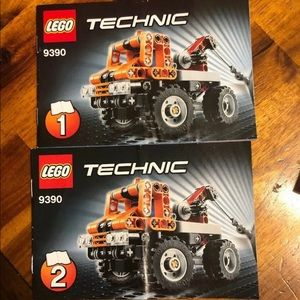 LEGO Technic Instruction Manual ONLY